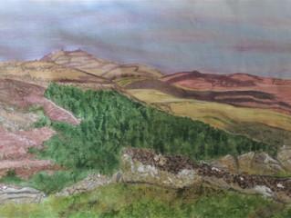 Painting Dartmoor