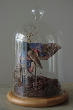 A Large Hawk Eyed Moth Dome (SOLD)