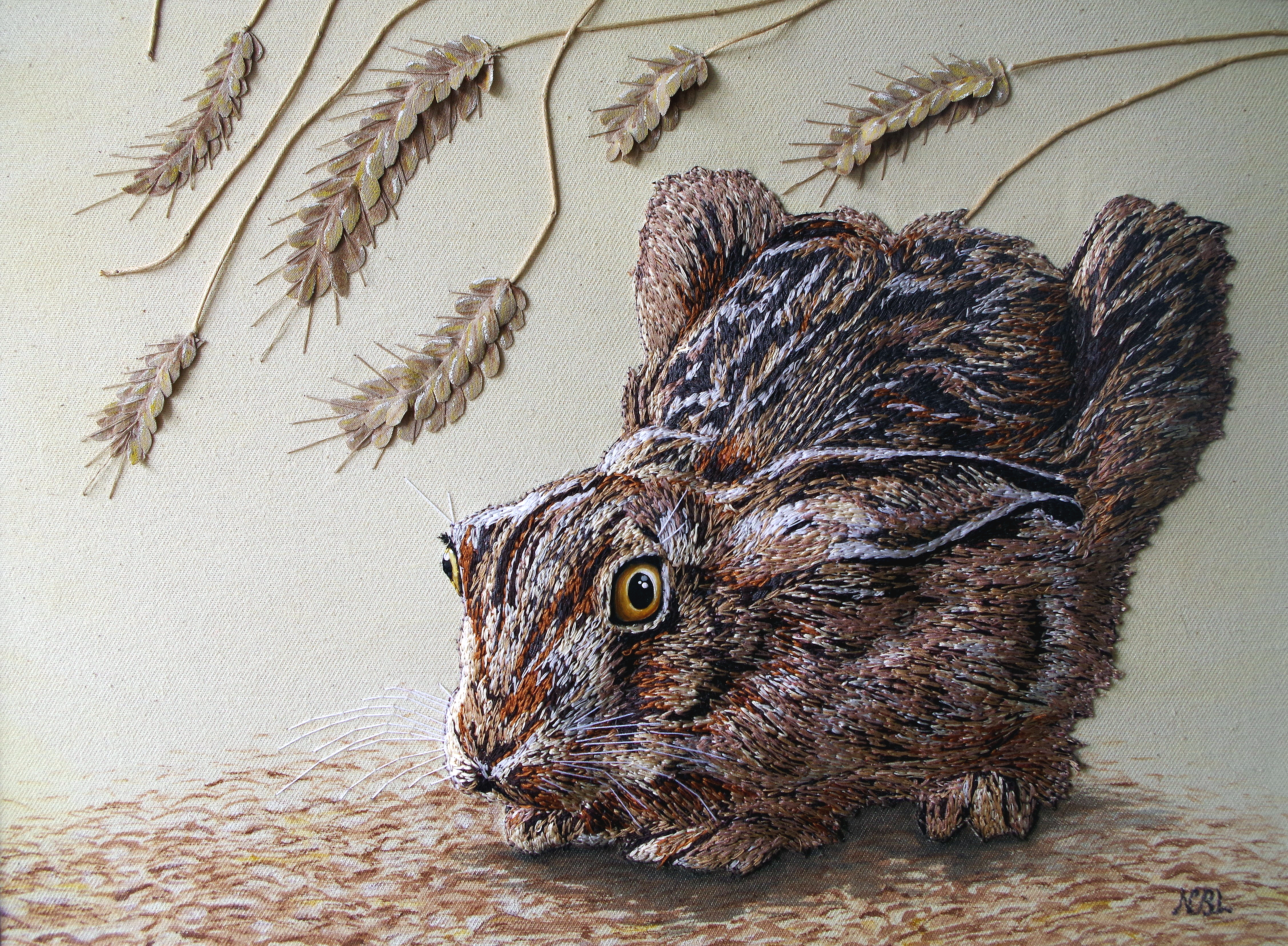 Starled Hare SOLD