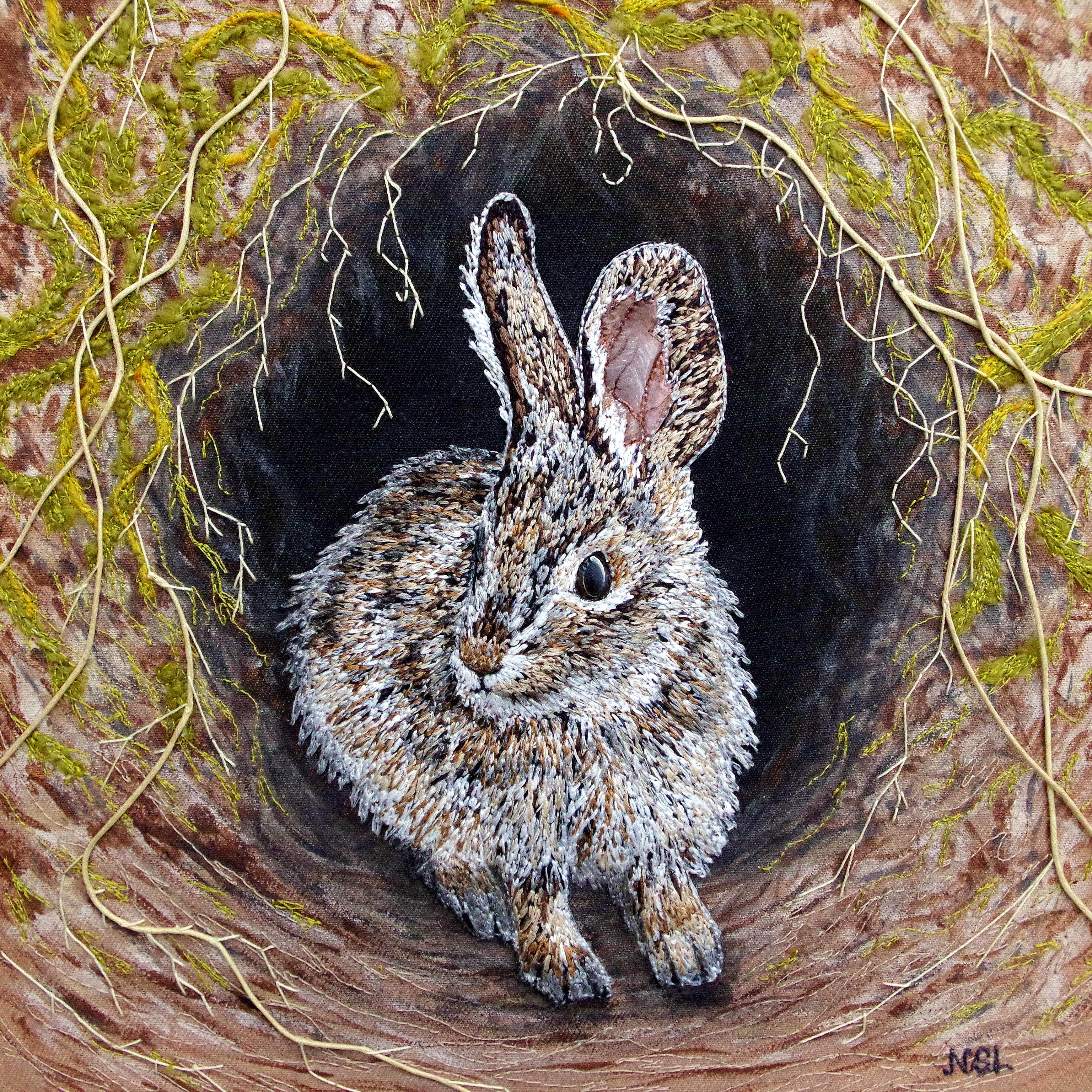 Down The Rabbit Hole SOLD