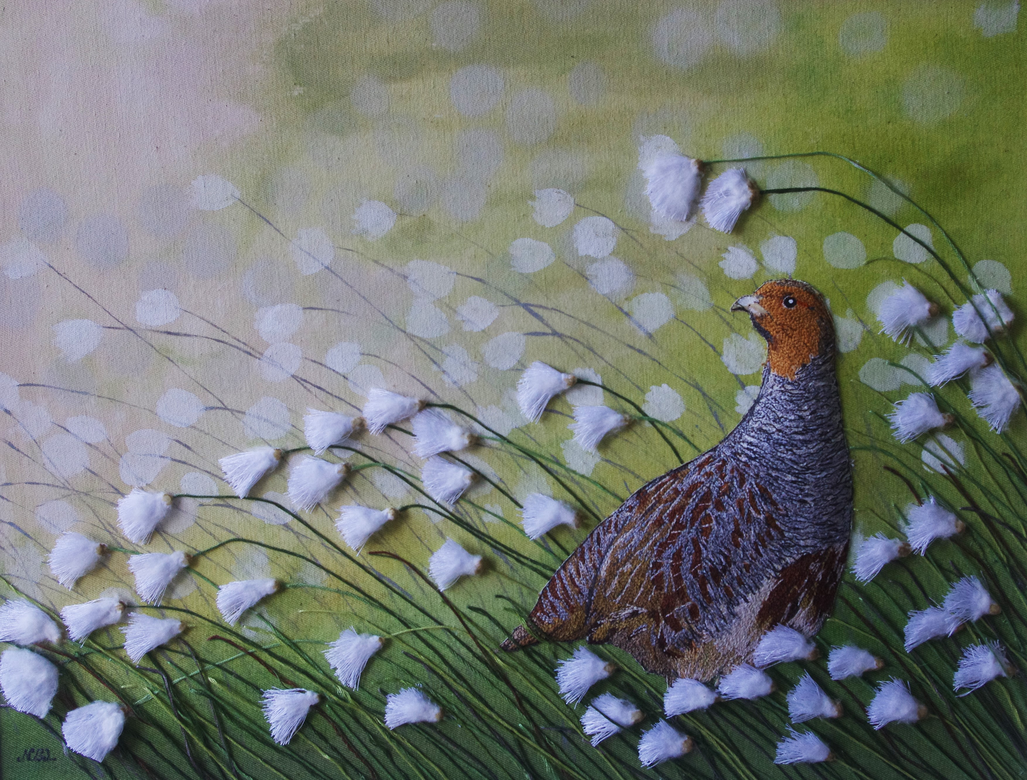 The Poised Partridge SOLD