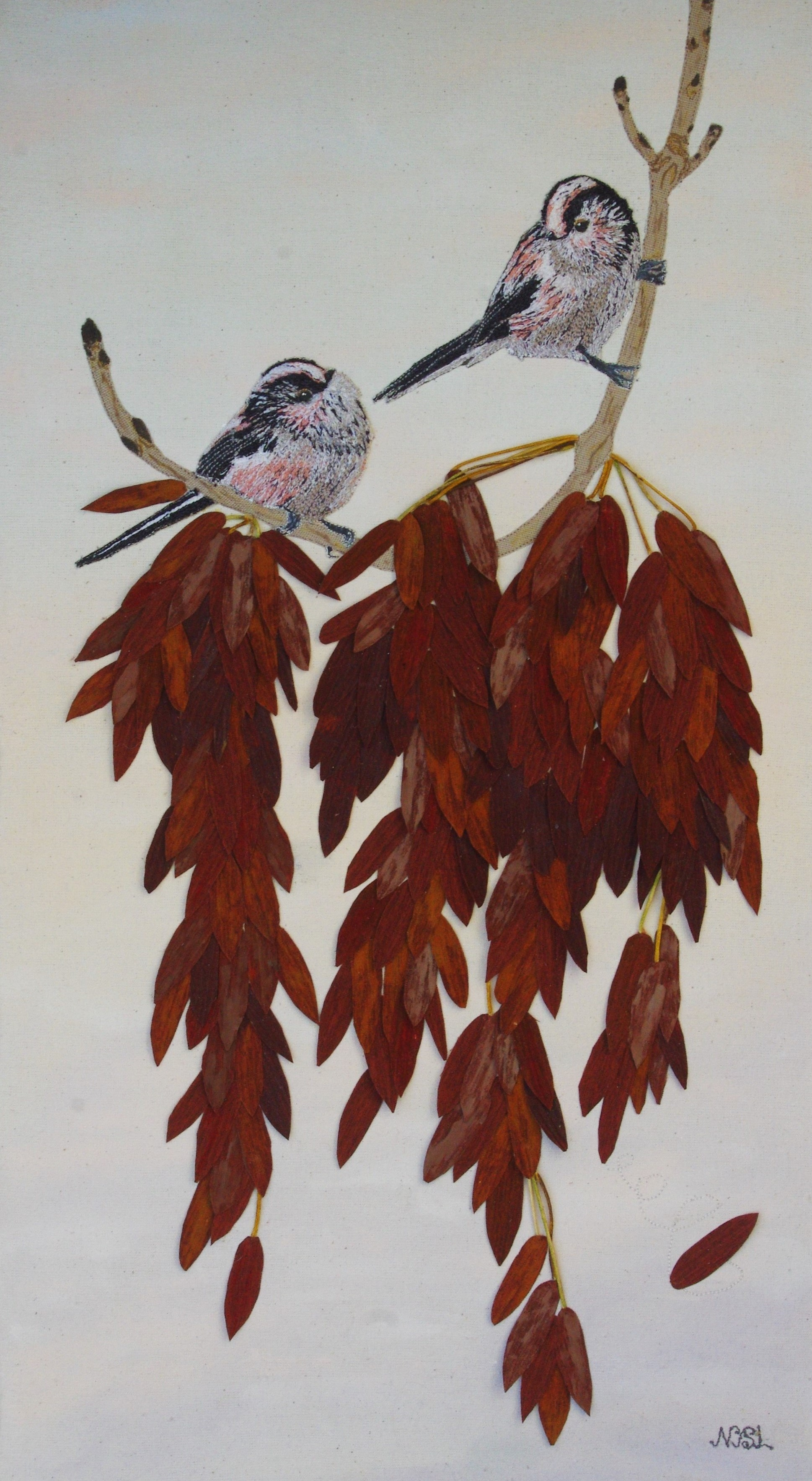 Perched Upon The Autumn Ash SOLD