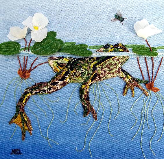 Floating In The Frogbit