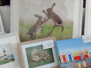 Window Display at Kaya Gallery