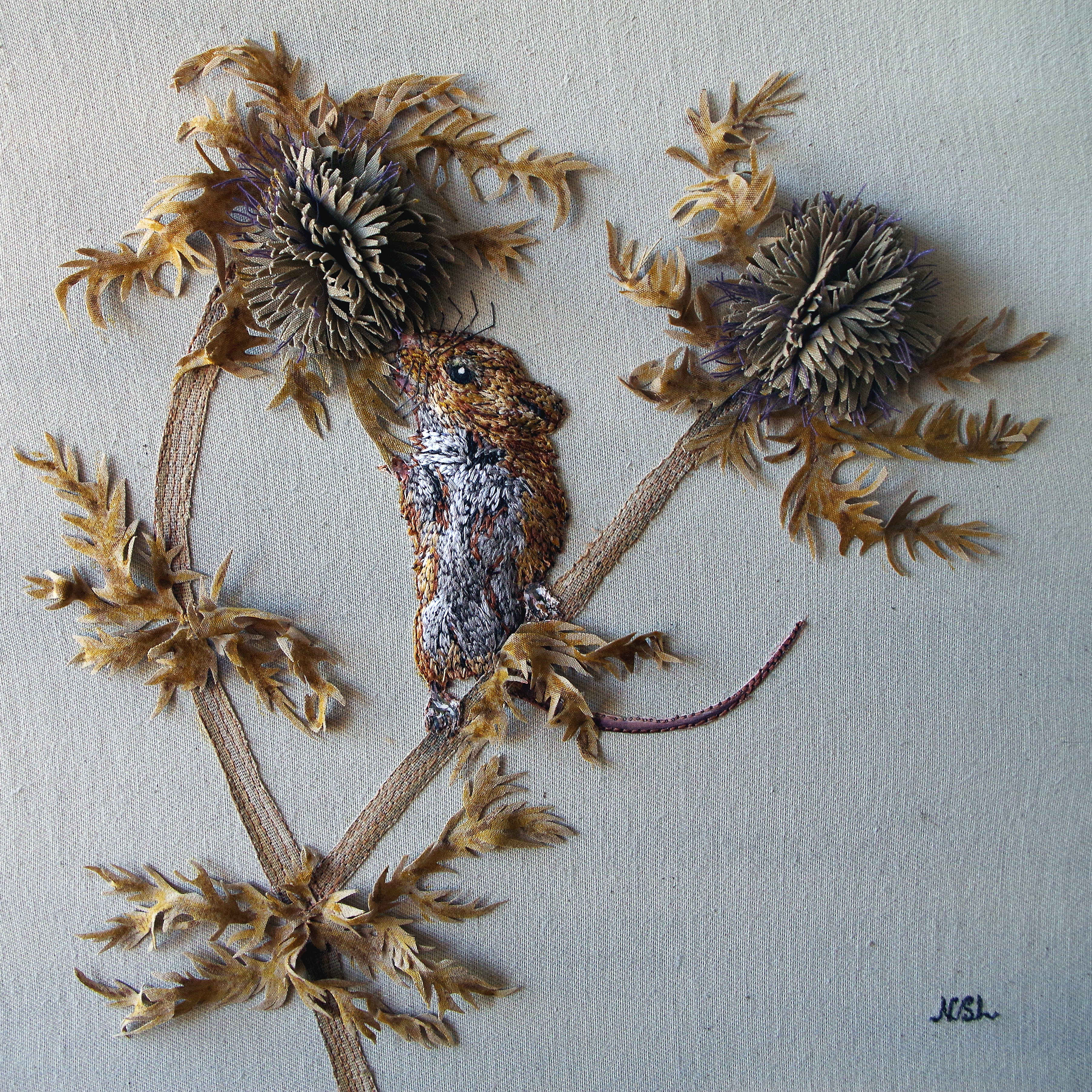 Prickly Work SOLD