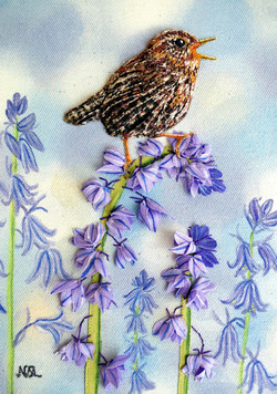 Singing Amongst The Bluebells SOLD