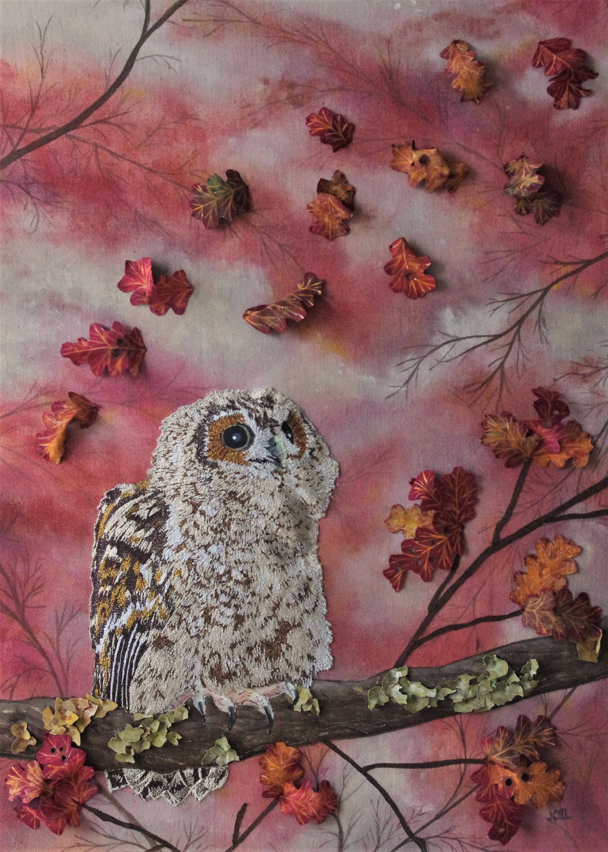 The Falling Leaves of Autumn (SOLD)