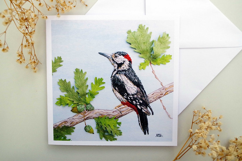 The Greater Spotted Woodpecker