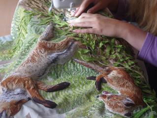 Sewing On Fern