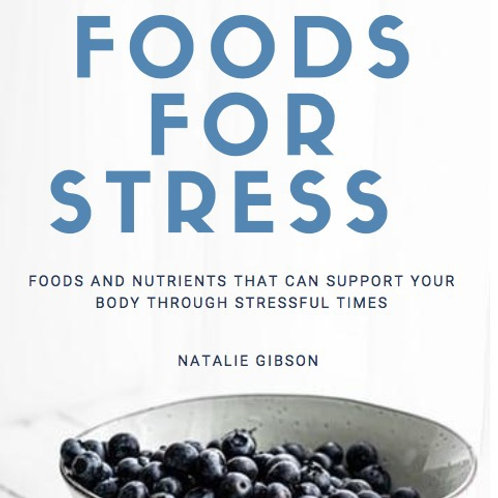 Foods for Stress Ebook