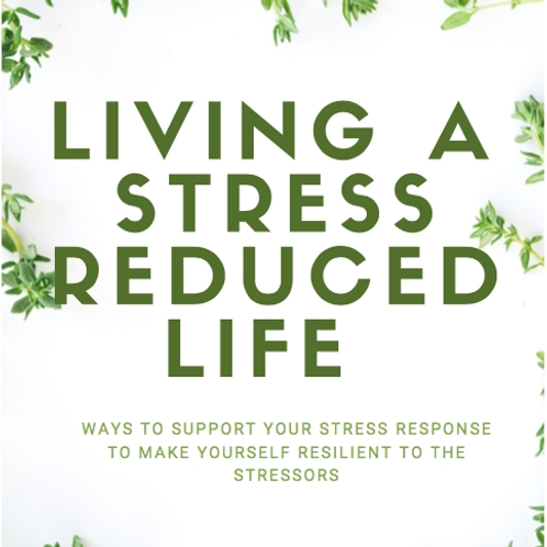 Living a Stress Reduced Life Ebook