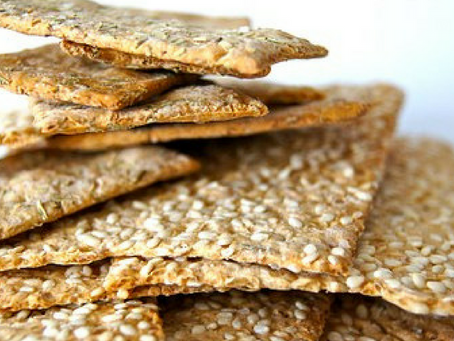Recipe: Seed Crackers