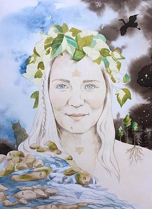 Portrait of Stina, 2020