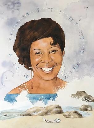 Portrait of Pam, 2020
