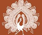 Warli Peacock