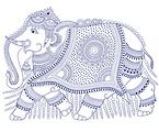 Kalamkari Elephant