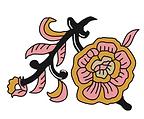 Kalamkari Flower