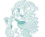 Tanjore Peacock