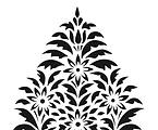 Sanjhi Stencil Tree