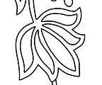 Sanganeri Stencil Flower