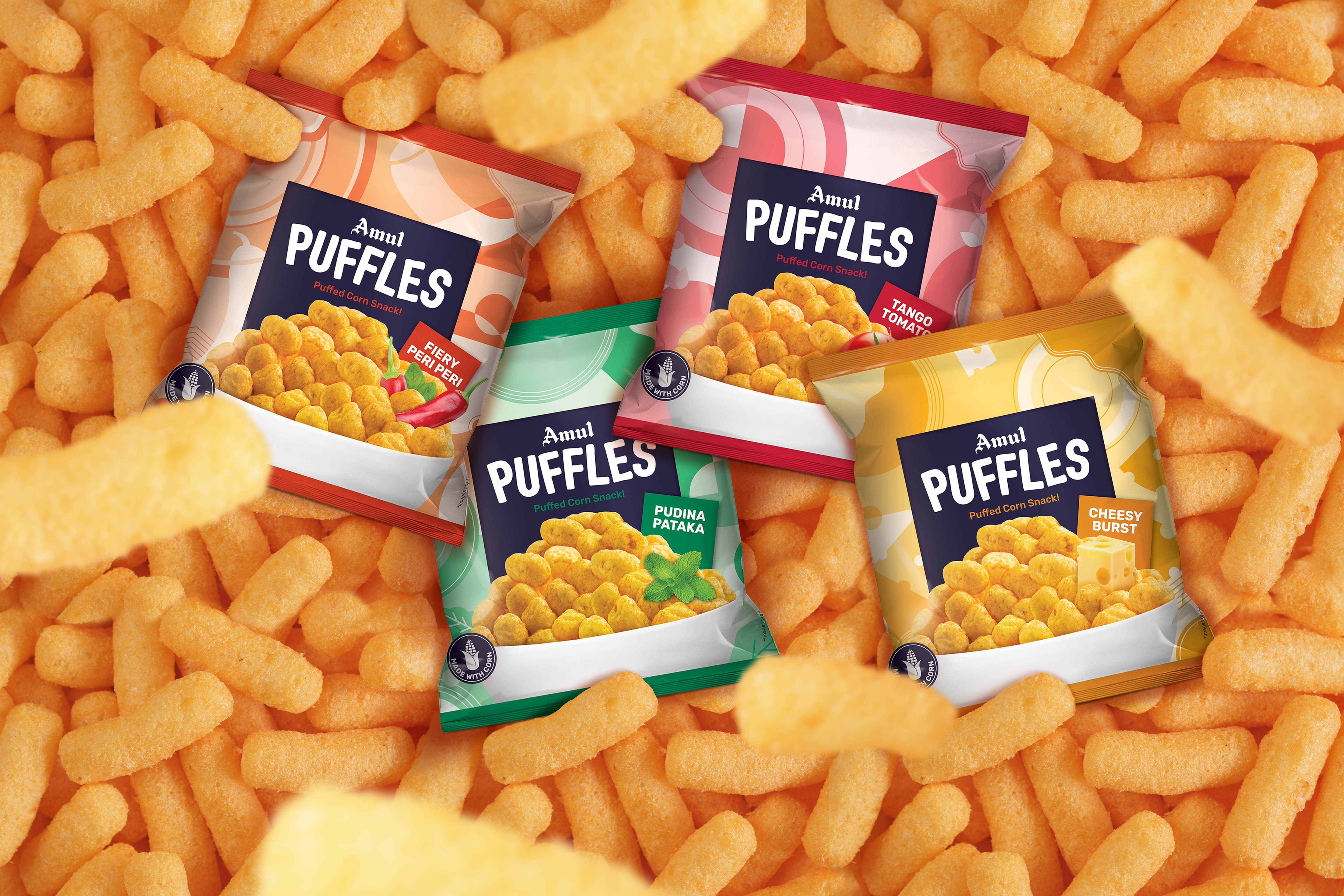 REIMAGINING INDIA'S BEST LOVED DAIRY BRAND AS A FUN SNACKS BRAND