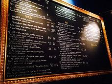 winebar menu