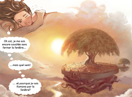 Un webcomic libre et open-source financé par ses lecteurs pour changer l'industrie de la BD !