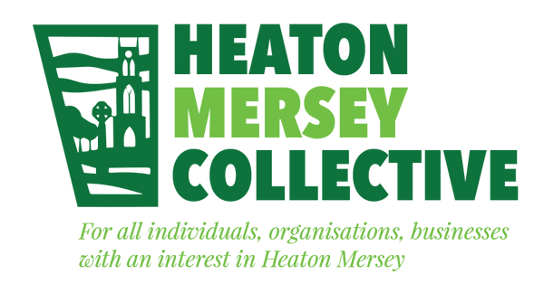 Heaton Mersey Collective Logo with tagli