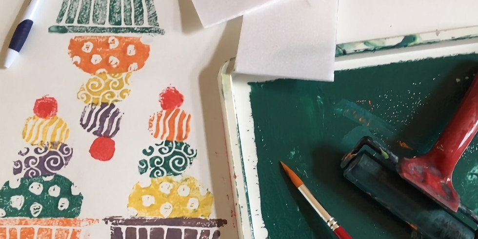 Art fair - printing workshop by Nayna Arts