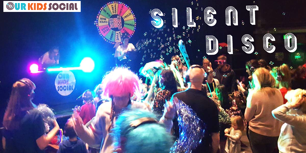 SOLD OUT - Our Kids Social Family Silent Disco