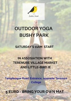 Yoga in the Park September
