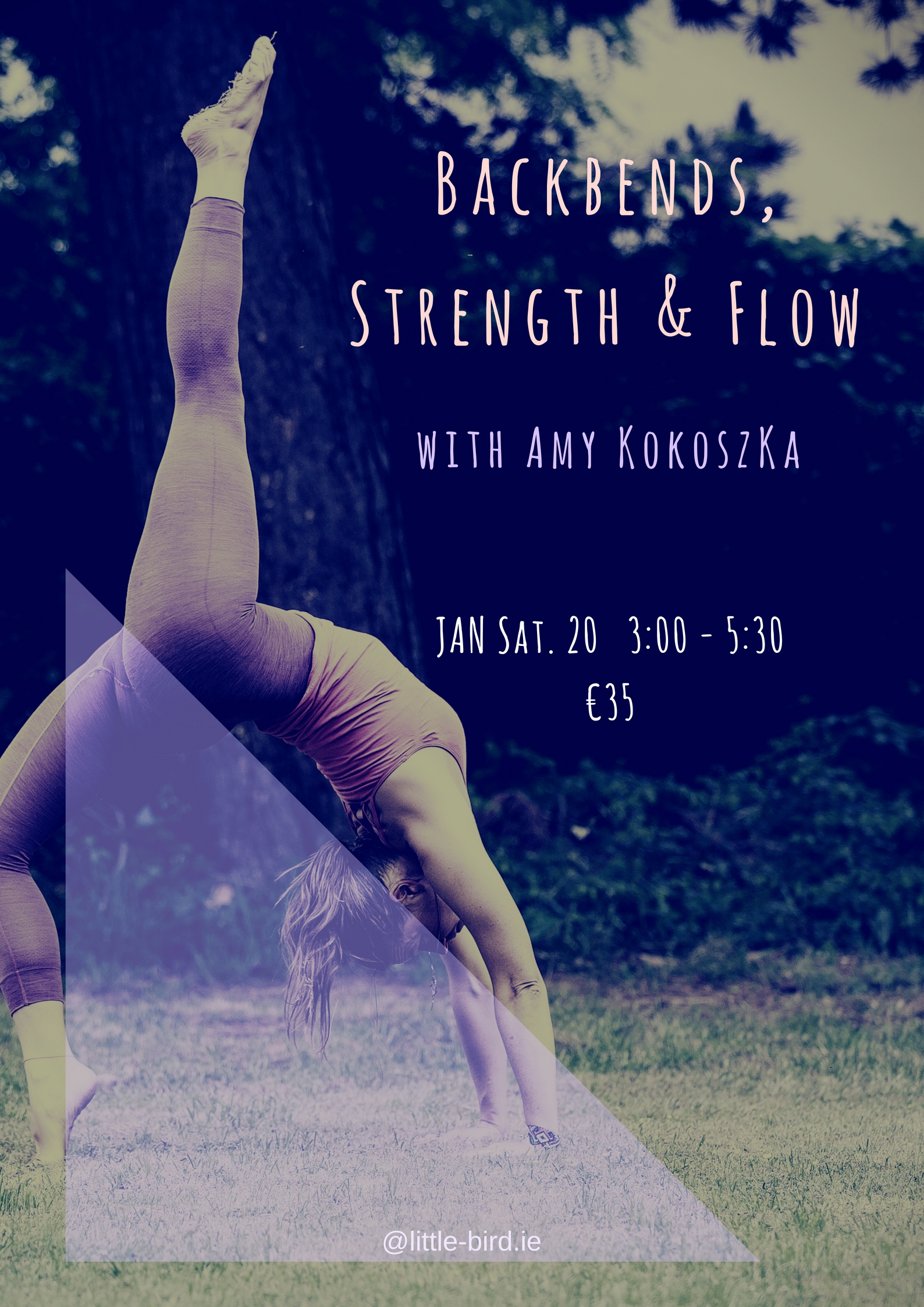 Backbends, Strenght and Flow