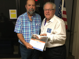 Larry McKay Named Knight of the Month for December