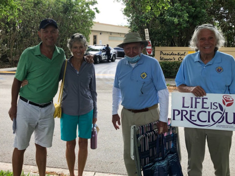 """Council Members Attend the """"Vigil for Life"""""""