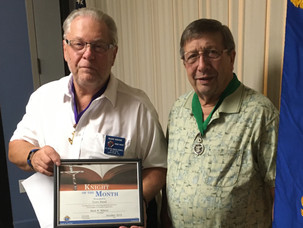 Terry Hood Named Knight of the Month for October
