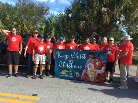Thanks to all who Participated in the JTAA Christmas Parade