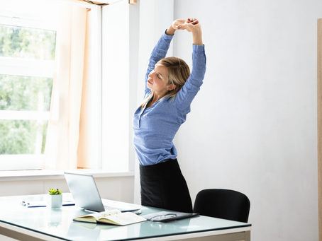 7 great ways to stay active at your work desk