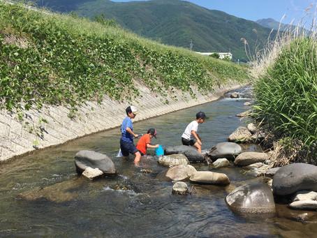 川遊び と 原体験