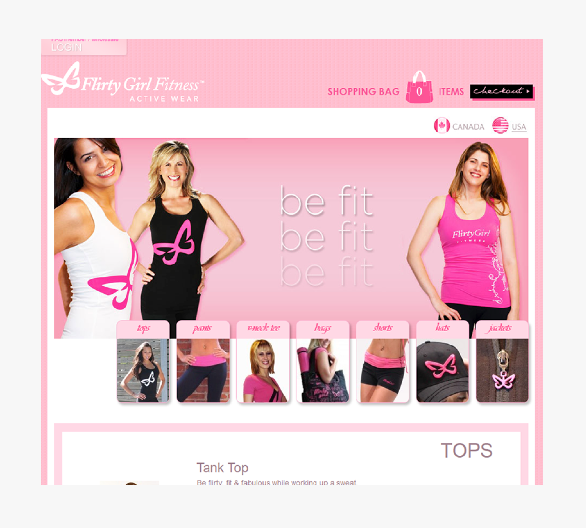 Flirty Girl Active Wear