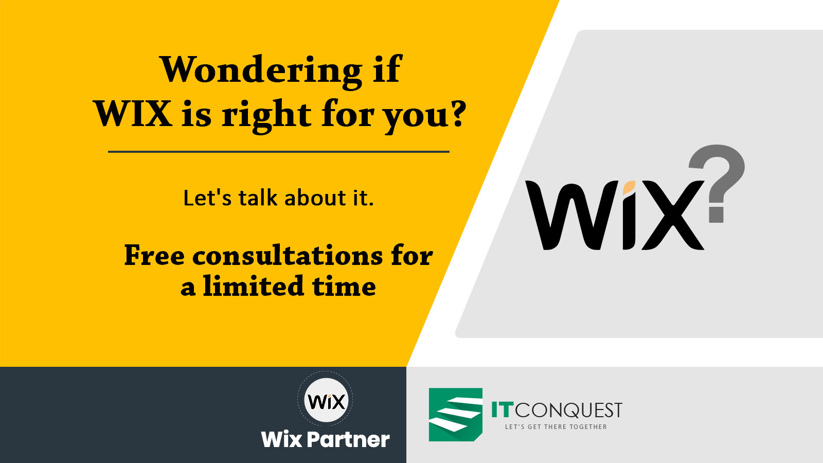 Free Wix Consultation