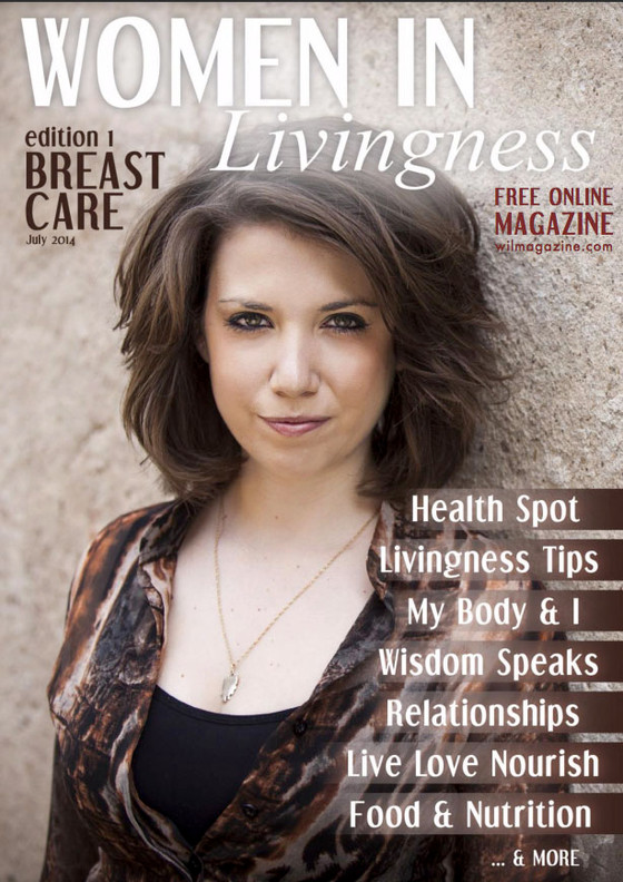 Article in the Women in Livingness Magazine