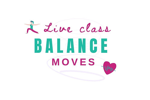 Balance Moves: 30min live classes