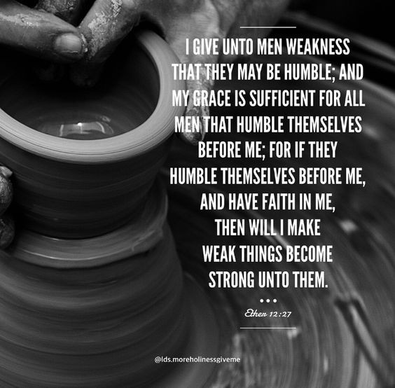 weak things become strong ether 12 27 book of mormon church of jesus christ scripture christian