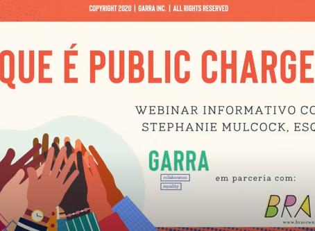 Tire todas as suas dúvidas sobre Public Charge - em Português.