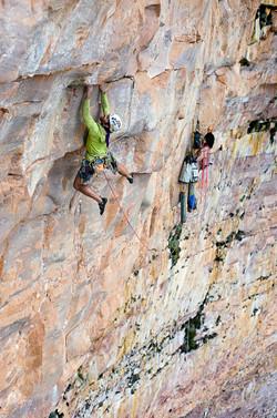 Sean Villanueva climbing movie