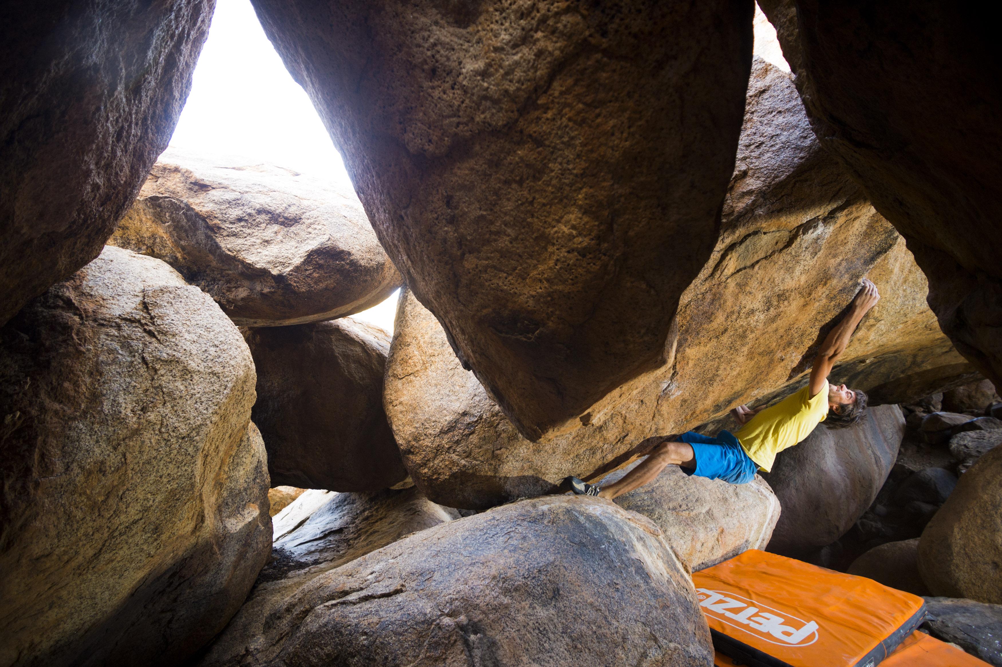 Bouldering Namibia