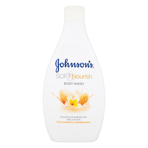 Johnson's Soft & Pamper body wash 400ml