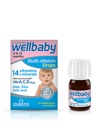 Wellbaby Multi-Vitamin Drop