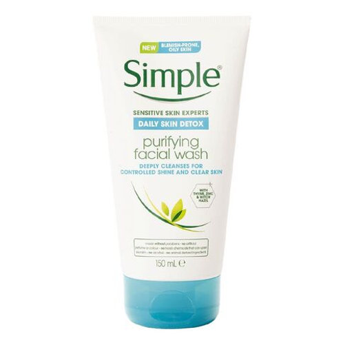 Simple Daily Skin Detox Facial Wash 150ml