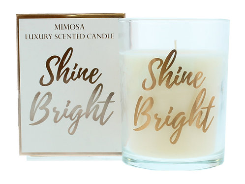 Mimosa Shine Bright Candle 220g